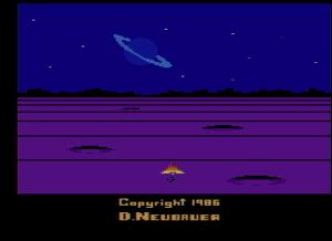 Solaris, Atari (1986). Probablemente unos de los mejores juegos para Atari VCS.