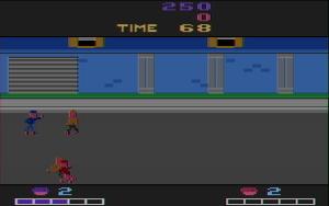 Double Dragon, Activision (Atari 2600)