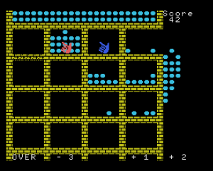 Lot lot lot. Juego en BASIC para MSX. 1984