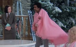Richard Pryor en Superman III, película de 1983.