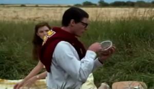 Escena de la película Superman III, 1983.