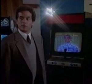 Automan y Burger Time de Intellivision en un mueble de Zaxxon.
