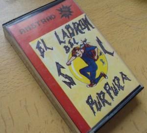 Caratula de El ladron del sol purpura, Amstrad CPC. PPP Ediciones.