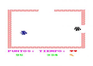 El ladron del sol purpura fue programado por Angel Garcia Delgado en 1986.