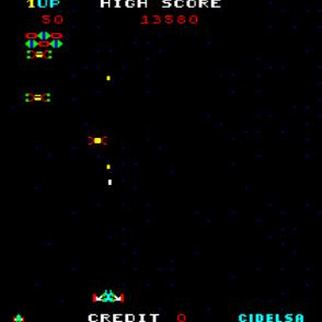 Gameplay de Altair, EFO - Cidelsa, 1981.