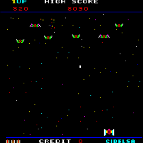Gameplay de Destroyer, EFO - Cidelsa. 1980.