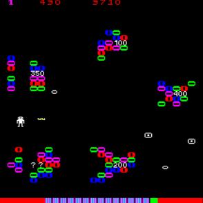 Gameplay de Draco, EFO - Cidelsa, 1981.