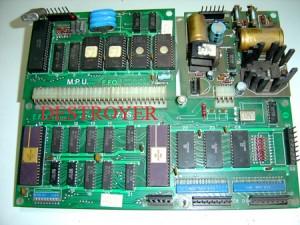 Placa Destroyer diseñado fabricado por EFO y comercializado por Cidelsa.