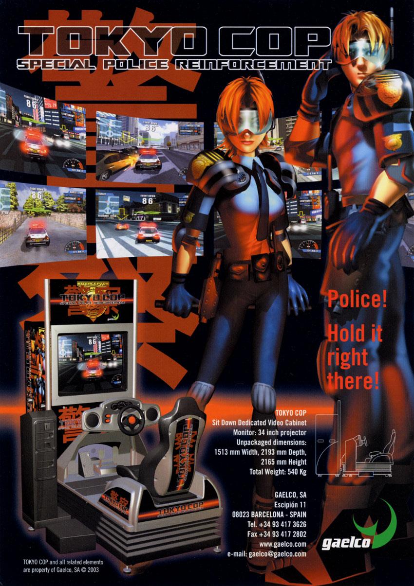 tokyo-cop-gaelco-flyer