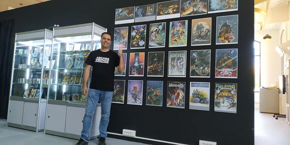 exposicion-dedicada-a-alfonso-azpiri-museo-del-videojuego